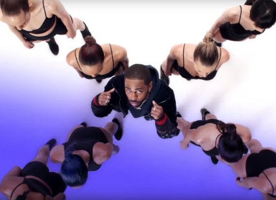 Big Sean, pic from the video 'Moves'